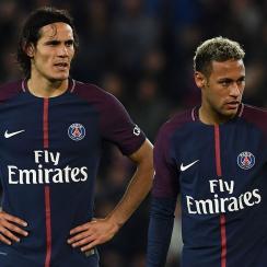 Neymar and Edinson Cavani are engaged in a power struggle at PSG