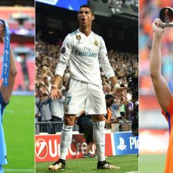 Carli Lloyd, Cristiano Ronaldo and Lieke Martens are finalists for FIFA's men's and women's player of the year awards