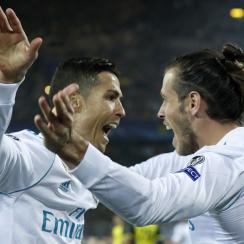 Gareth Bale and Cristiano Ronaldo lead Real Madrid by Borussia Dortmund in the Champions League