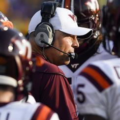 Justin Fuente: Virginia Tech coach on following Frank Beamer