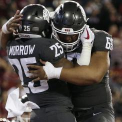 Washington State USC final score: Mike Leach, Jamal Morrow shine as Sam Darnold stumbles