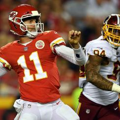 Chiefs QB Alex Smith vs. Redskins