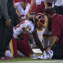 Josh Norman injury: Redskins CB (ribs) hurt, out vs. Chiefs