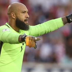 Tim Howard looks to help the USA clinch its place in the 2018 World Cup
