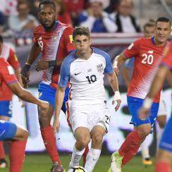 Christian Pulisic is a focal point for the USA's attack