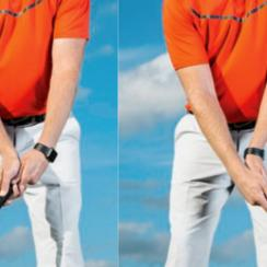 It may look strange, but most Tour pros use a touch of hinge in every stroke they make.