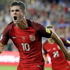 Christian Pulisic scores for the USA in a World Cup qualifier vs. Panama