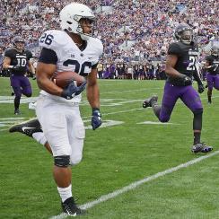 Penn State 31, Northwestern 7: Saquon Barkley silenced