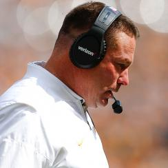 Is Butch Jones's fate sealed after Tennessee's dreadful showing vs. South Carolina?