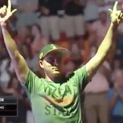 Rickie Fowler has lots of fans in Stillwater, Okla.