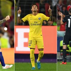 Barcelona, PSG and Manchester United are all perfect in the Champions League through three games
