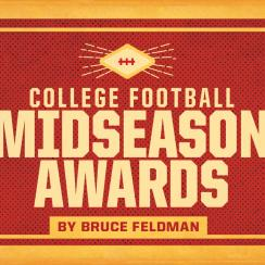 Midseason college football awards: Saquon Barkley, Gary Patterson, Baker Mayfield