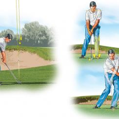 How to hit a flop shot like Phil Mickelson.