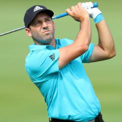 Sergio Garcia shot a five-under 66 to share the lead at the Andalucia Valderrama Masters after the first round.