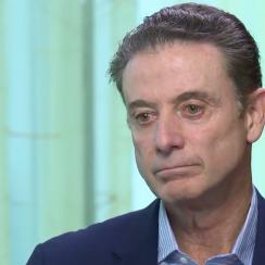 Rick Pitino interview: Louisville coach denies allegations