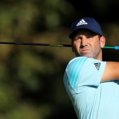 Tournament host Sergio Garcia is one round away from victory in his native Spain at the Andalucia Masters.