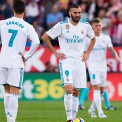 Real Madrid lost again in La Liga, widening the gap with first-place Barcelona