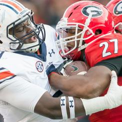 Georgia vs. Auburn, Oklahoma vs. Oklahoma State: College football schedule highlights