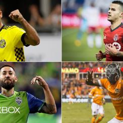 The Columbus Crew, Toronto FC, Seattle Sounders and Houston Dynamo are MLS's final four teams in 2017
