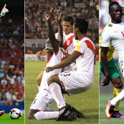 Italy, Peru and Senegal are hoping to punch their World Cup tickets