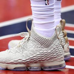 Nike LeBron 15 'Ghost' worn by LeBron James