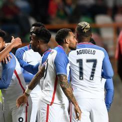 Weston McKennie scores for USA vs. Portugal