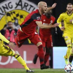 The Columbus Crew host Toronto FC in the first leg of the MLS Conference Final