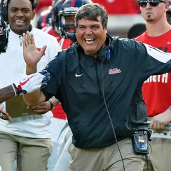 Matt Luke: Ole Miss Rebels remove interim tag of coach replacing Hugh Freeze
