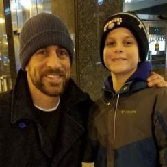 Aaron Rodgers: Bears fans meet Packers QB in Chicago