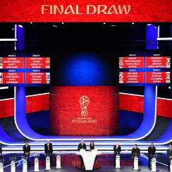 The groups have been picked for the 2018 World Cup