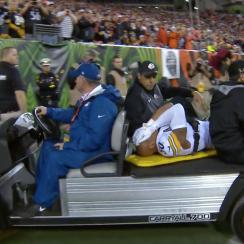 Ryan Shazier injury: Steelers LB taken off on stretcher