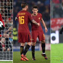 Manchester United, Roma and PSG have won their Champions League groups