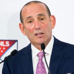 MLS Commissioner Don Garber spoke before MLS Cup