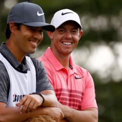 Rory McIlroy will stick with longtime friend Harry Diamond as his caddie for the coming year.