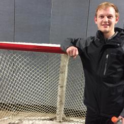Blues Emergency goalie: Season ticket holder Tyler Stewart