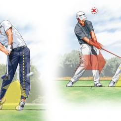 Leverage the ground for more power off the tee.