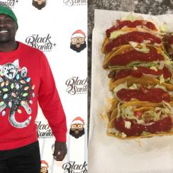 Marcellus Wiley tweets photo of tacos with ketchup