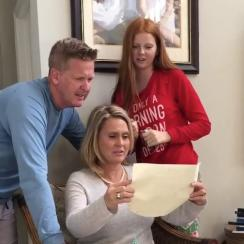 Pavin Smith surprised his parents by paying off their mortgage for Christmas.
