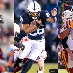 College football 2017 awards: Saquon Barkley, Lane Kiffin, Khalil Tate and more