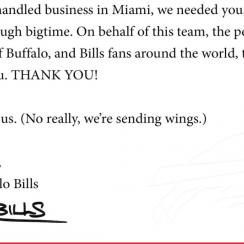 Bills sending Bengals wings