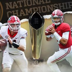 College football national championship game 2018: Previewing Georgia-Alabama