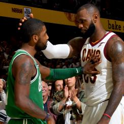 Kyrie Irving thought LeBron's reps behind Suns trade talks
