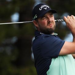 Marc Leishman carded eight birdies in his first competitive round of 2018 at the Sentry Tournament of Champions.