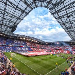 Red Bull Arena was the host site for the USA's World Cup qualifying match vs. Costa Rica in September