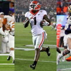 2017-18 college football bowl season: Top performers at each position