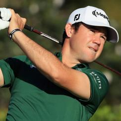 After a second round of 63, Brian Harman leads by three shots heading into the weekend at the Sony Open.