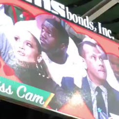 Alex Rodriguez, Jennifer Lopez on kiss cam at Miami game (video)