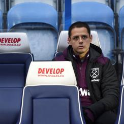 Chicharito hasn't found success at West Ham since David Moyes took charge as manager.
