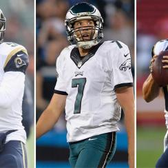 Nick Foles vs. Case Keenum: Trades before Eagles-Vikings game