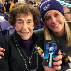Super Bowl tickets for 99-year-old Vikings fan